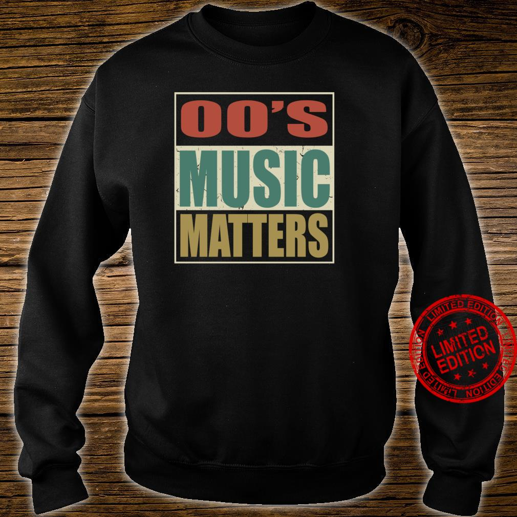 00s Music Matters Vintage Colors Style Pop Era Song Shirt sweater