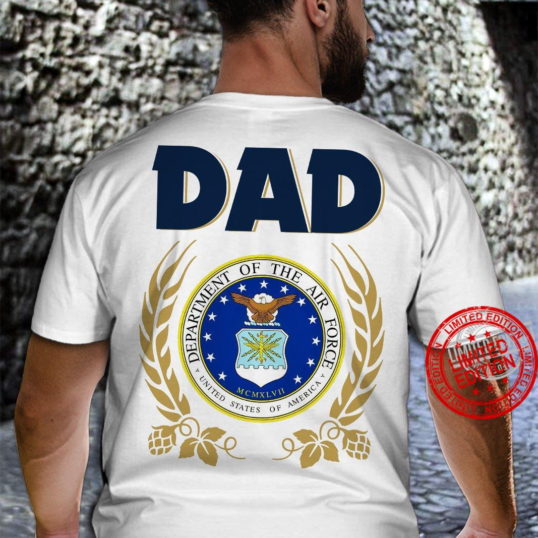 Dad Department Of The Air Force United States Of America Shirt
